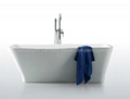Latest design unique shaped acrylic bathtub BS-6210