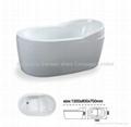 Foshan freestanding bath modern design BS-6505B