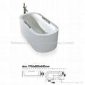 Latest Design soaking tub Acrylic bathtub Indoor tub BS-6212