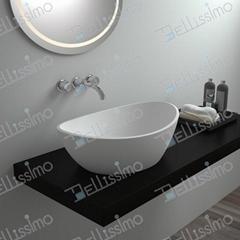 Basin, kitchen washing basin,Beautiful Stone Resin Basin  BS-8306