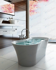 Square Bathtub ,Contemporary Bathtub BS-8601