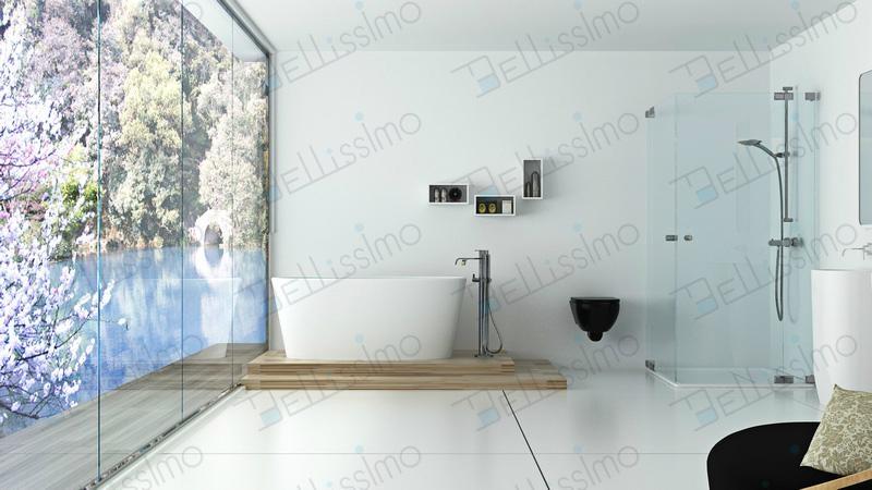 New design oval bathtub enamel stone resin bathtub bs 8602 for Hotel design bs as