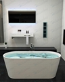 China Bathtub,Sell Stone resin Bathtub BS-8604