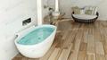 Wholesale Bathroom white Stone Bathtub ,Soaking Solid Surface  Bathtub BS-8607