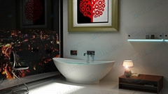 Very Beautiful Tubs ,One Piece Corian Bathtub BS-8609  (Hot Product - 1*)