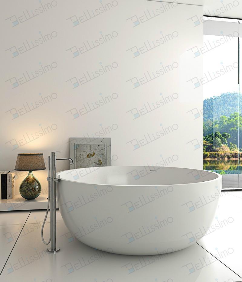 Round Stone Resin Bathtub,1500 Bathtub BS-8615 - BS-8615 ...