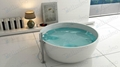 Round Stone Resin Bathtub,1500 Bathtub BS-8615