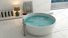 Round Stone Resin Bathtub,1500 Bathtub BS-8615