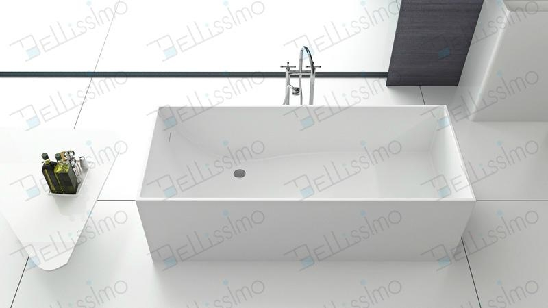 New Style stone resin bathtub,Unique shape tubs BS-8617