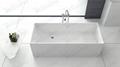 New Style stone resin bathtub,Unique shape tubs BS-8617