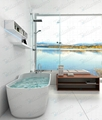Top sell Bathtub,Oval Tubs,Cast Solid Spa Bathtub BS-8625