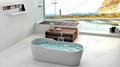 Top sell Bathtub,Oval Tubs,Cast Solid Spa Bathtub BS-8625
