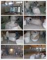 Red tubs,Oval stone bathtub,hot tub,bathtub manufacturer BS-8628 11