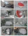 Red tubs,Oval stone bathtub,hot tub,bathtub manufacturer BS-8628 10
