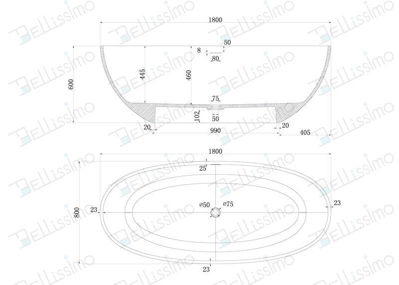 Red tubs,Oval stone bathtub,hot tub,bathtub manufacturer BS-8628 7