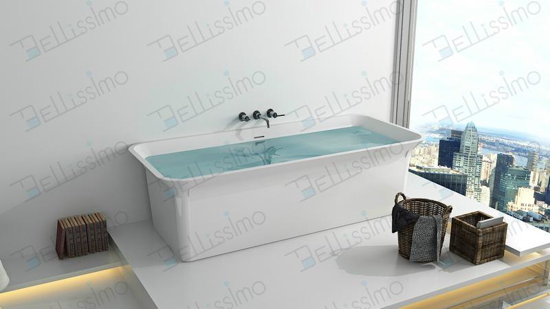 Hot Sell Bathtub, Stone Bathtubs & Whirlpools,long 1800 bathtub BS-8630