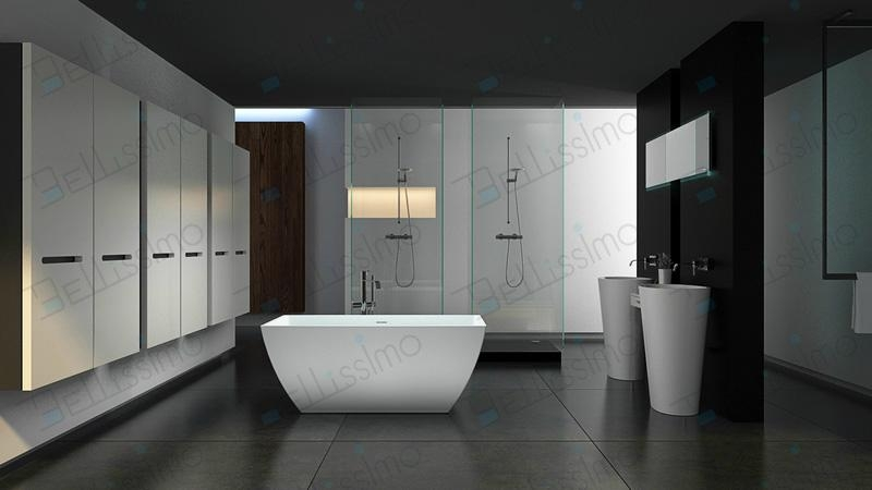 Hot sell Bath tub,,bathtub ,artificial stone Bathtub ,BS-8641  2