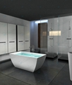 Hot sell Bath tub,,bathtub ,artificial stone Bathtub ,BS-8641  1