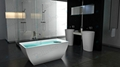 Hot sell Bath tub,,bathtub ,artificial stone Bathtub ,BS-8641  3