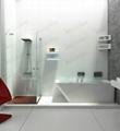 Solid surface tubs Foshan1700mm, Antique Bathtub (BS-8634)