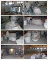 Beautiful Modern Stone Resin Basin ,Oval Sink BS-8302