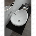 Foshan Basin Factory,  Beautiful  Stone Resin Basin, Sink BS-8304