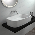 Hot sell top counter basin,Vanity Stone Hand Use Basin  BS-8305