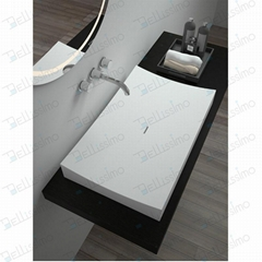 New Design Wash basin, Factory Artistic Luxury Basin BS-8309