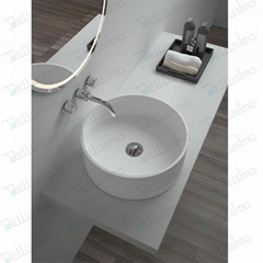 Oval Wash Basin ,Counter Top sink,dish washing basin BS-8315