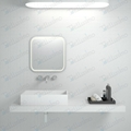 New Style Wash Basin,artificial basin,Rectangle basin BS-8317