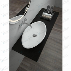 Beautiful New Style Wash Basin,Oval Sink BS-8326