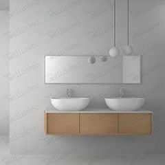 European Style Washing basins with price,Oval stone sink BS-8329