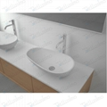 Europe types of wash basins, Stone basin white/red or black color BS-8330
