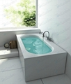 Composite stone bathtub,Solid Surface bathtub BS-8620