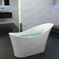 Unique soaker tub,Solid Surface bathtub BS-8605(More cold)