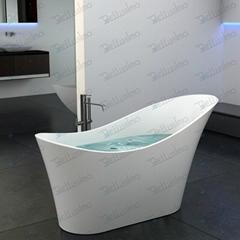 Unique soaker tub,Solid Surface bathtub BS-8605(More cold)
