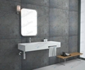 Unique Shaped Fashionable Wall-Hung Basin Sink BS-8405