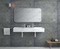 Hot Sell  Corian Basin,Double Sink model BS-8412