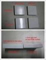 Modern design,Square Man Made Stone  white Basin BS-8414