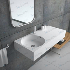 China Factory produce Artificial Stone Basin,Corian Sink BS-8417