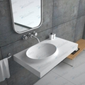 Made Stone  bathroom Sink,New Fashion design BS-8418