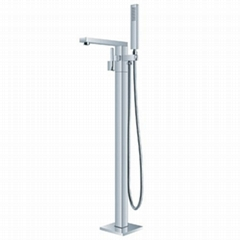 European Design Modern Floor Stand Bathroom Faucet  BS-F51030