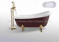 clawfoot bathtub  BS-6303