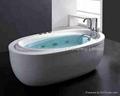new design bathtub BS-6512