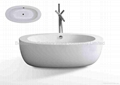 china Acrylic Modern Bathtub BS-6203