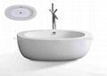 china Acrylic Modern Bathtub BS-6203