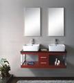 Hot Sale!Single Simple European Style Solid Wood Furniture Mirror HC-5019
