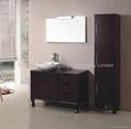 Luxurious one sink bath cabinet  HC-5018