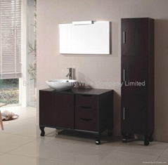 Luxurious one sink bath cabinet  HC-5018