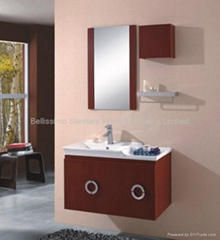 Hot selling latest solid wood bathroom design HC-5016